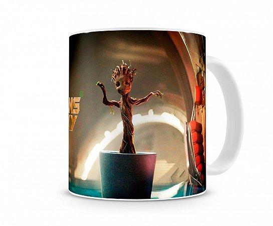 Caneca Guardiões da Galaxia Baby Groot
