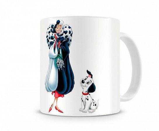 Caneca Cruella de Vil Disney