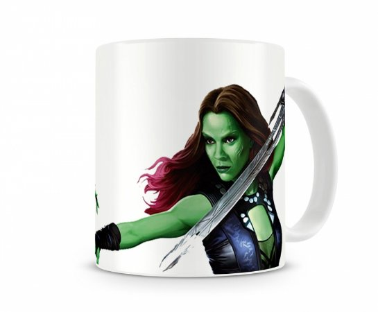 Caneca Guardiões da Galaxia Gamora II