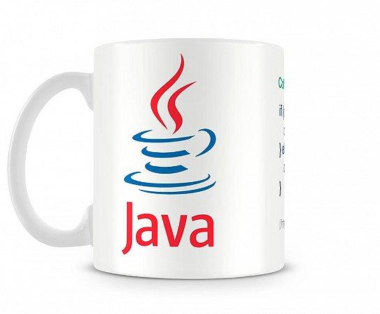 Caneca Linguagem Java Class