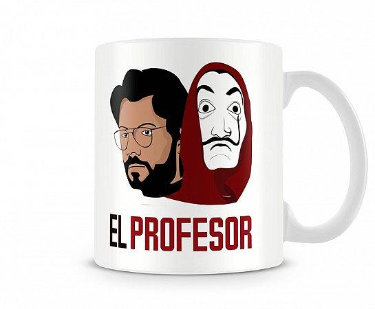 Caneca La Casa de Papel Professor III