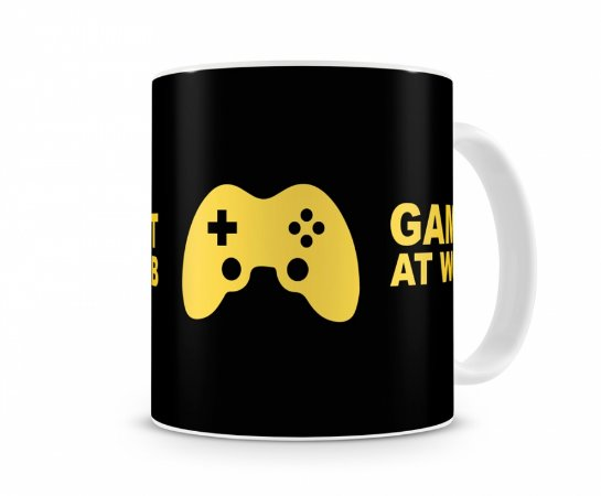 Caneca Gamer At Work III