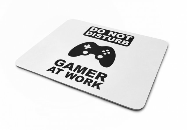 Mousepad Gamer At Work IV