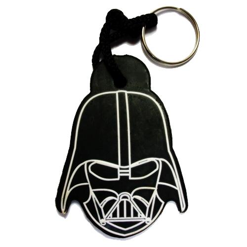 Chaveiro emborrachado Star Wars Darth Vader