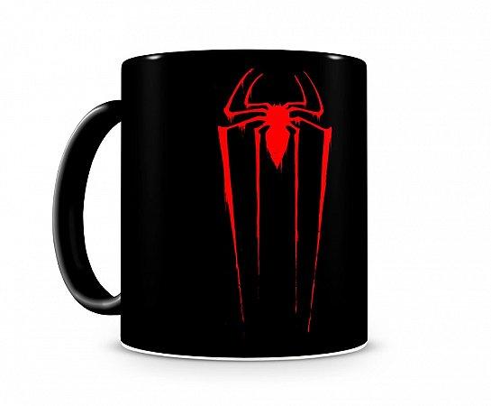 Caneca Homem Aranha Spider Red alça preta