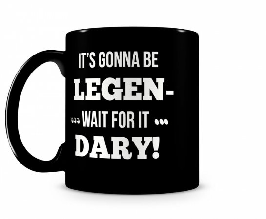 Caneca How I met your mother legendary Black