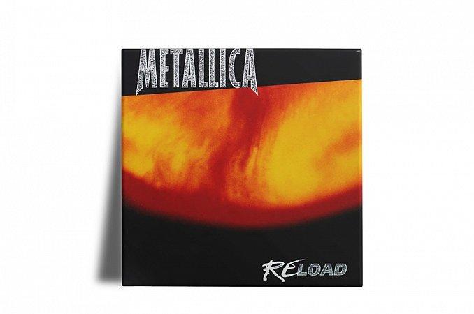 Azulejo Decorativo Metallica Reload 15x15