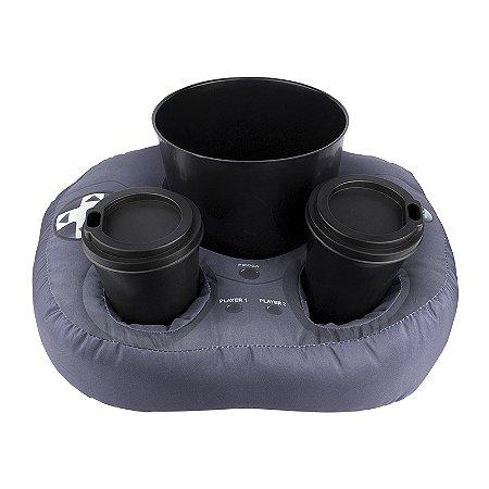 Almofada porta pipoca controle de videogame 2