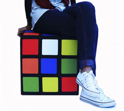 Pufe Cubo Mágico