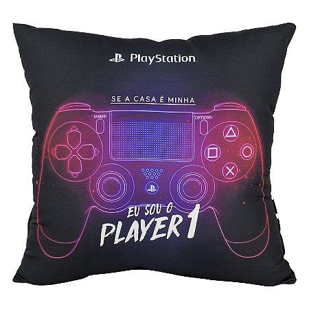 Almofada porta controle de videogame playstation