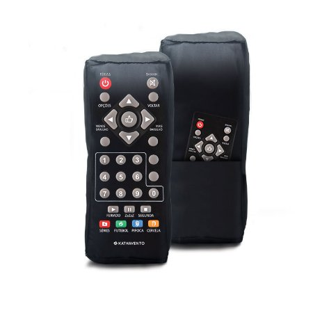 Almofada formato controle remoto