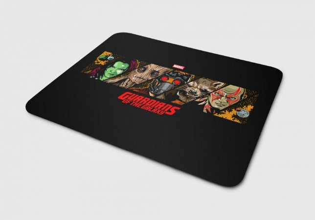 Mousepad Guardiões da Galaxia Personagens II