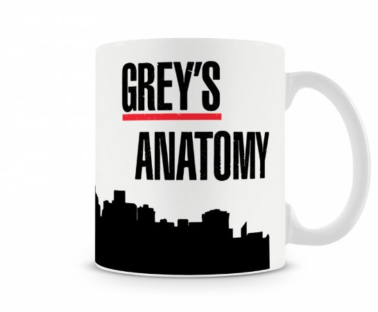 Caneca Greys Anatomy Seattle MOD 1