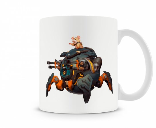 Caneca Overwatch Wrecking Ball