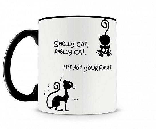 Caneca Smelly Cat Preta