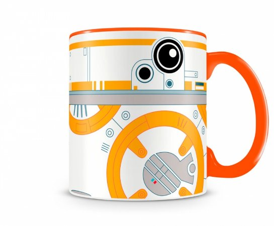 Caneca Star Wars BB8 Laranja
