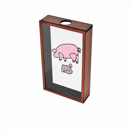 Quadro Porta Rolhas Pink Floyd Animals