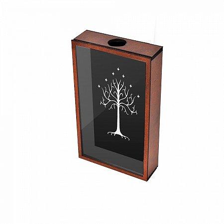 Quadro Porta Rolhas Senhor dos Anéis Árvore de Gondor