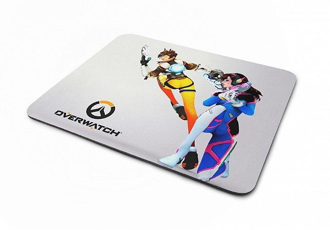 Mousepad Overwatch Tracer e D.Va