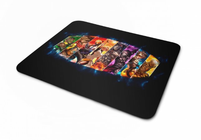 Mouse pad Overwatch Personagens