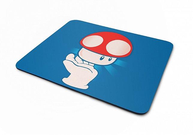 Mousepad Mário Bros Cogumelo