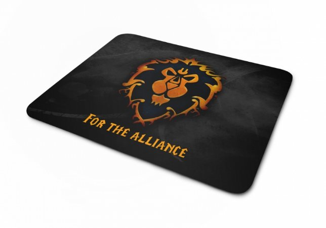 Mousepad World Of Warcraft Aliança