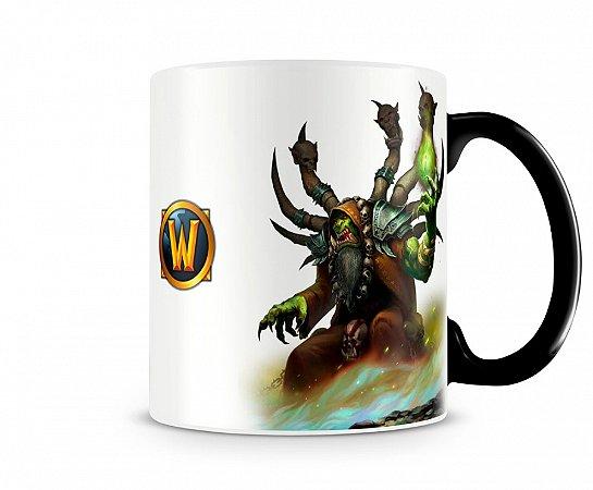 Caneca Mágica World Of Warcraft Guldan I