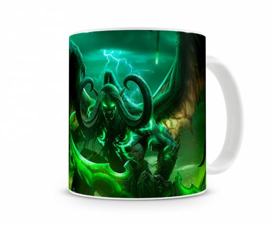 Caneca World Of Warcraft Illidan I
