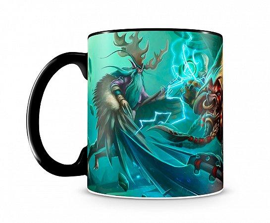 Caneca World Of Warcraft Malfurion II Preta