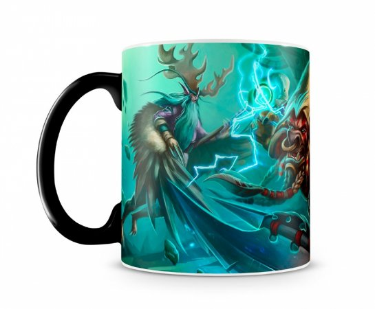 Caneca Mágica World Of Warcraft Malfurion II