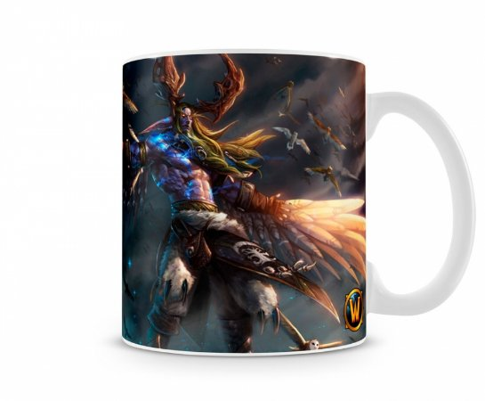 Caneca World Of Warcraft Malfurion I