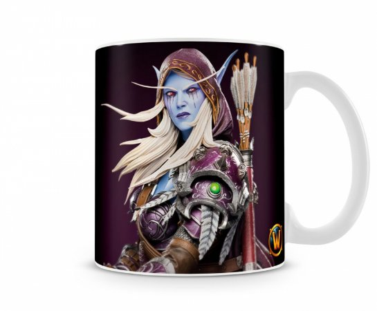Caneca World Of Warcraft Sylvanas I