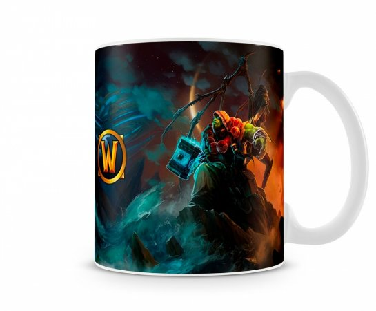 Caneca World Of Warcraft Thrall II