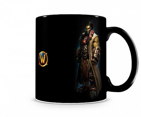 Caneca World Of Warcraft Thrall III Preta