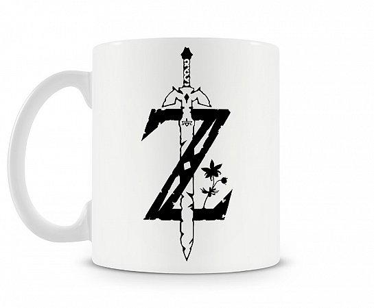Caneca Legend Of Zelda Esp