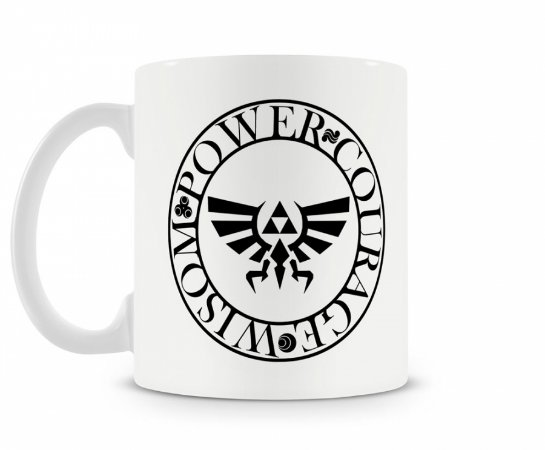 Caneca Legend Of Zelda Triforce MOD2