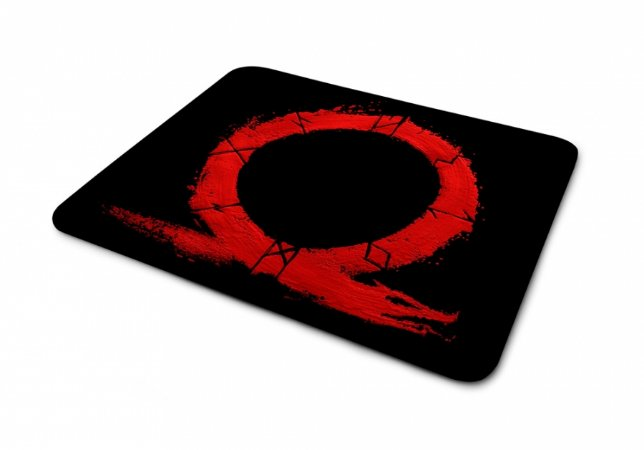 Mousepad God Of War Logo Vermelho