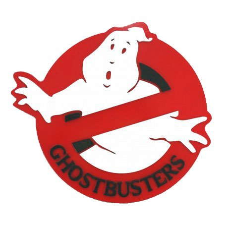 Quadro relevo Ghostbusters