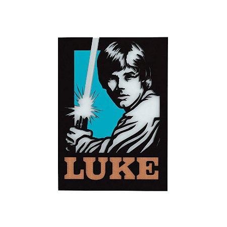 Quadro relevo Star Wars Luke