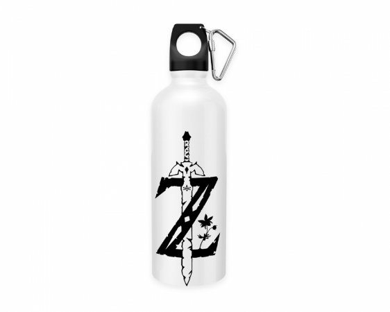 Squeeze aluminio branco The Legend Of Zelda