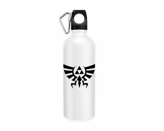 Squeeze aluminio branco The Legend Of Zelda Triforce