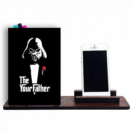 Organizador de Mesa Darth Vader Corleone