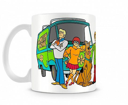 Caneca Scooby Doo Máquina de Mistério
