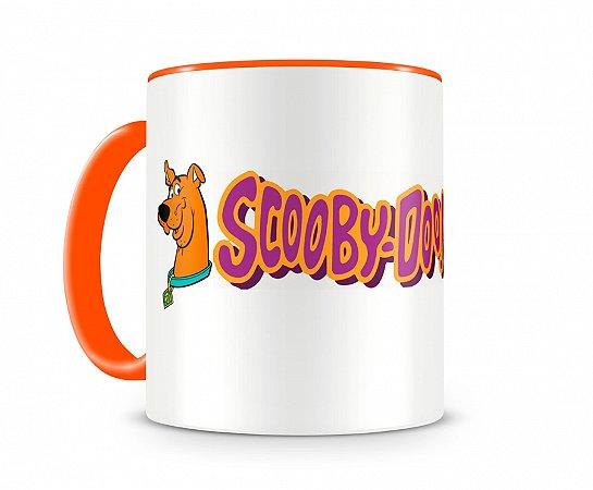 Caneca Scooby Doo II Laranja