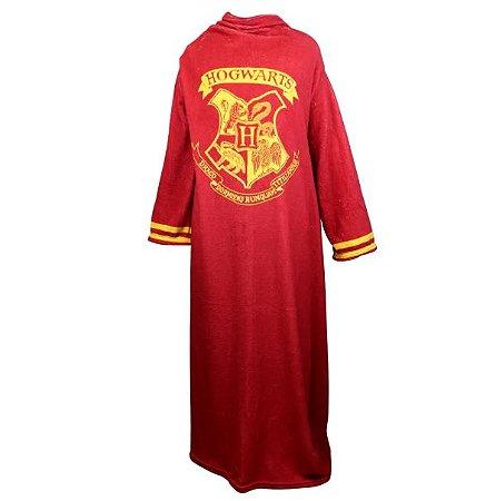 Cobertor com mangas Harry Potter Hogwarts