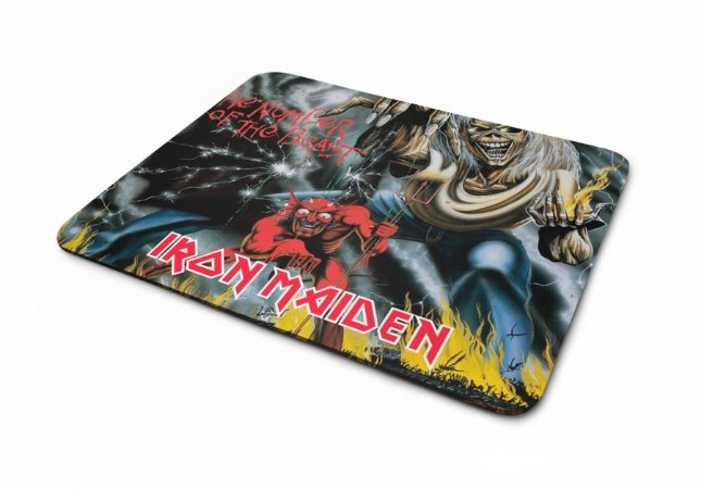 Mousepad Iron Maiden The Number Of The Beast