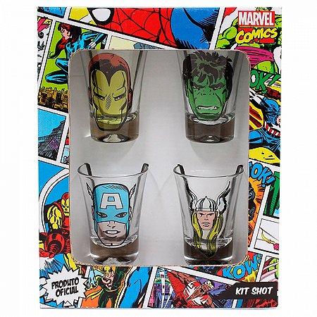 Kit Shot Marvel