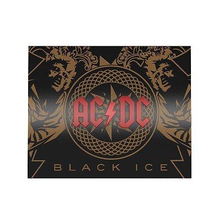 Quadro relevo AC DC Black Ice
