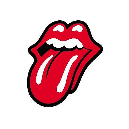 Quadro relevo Rolling Stones mouth