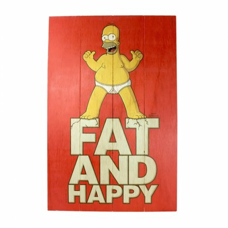 Quadro Homer Fat And Happy